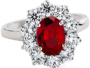 Ruby Diamonds Platinum